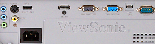 Viewsonic 7828 rear panel review